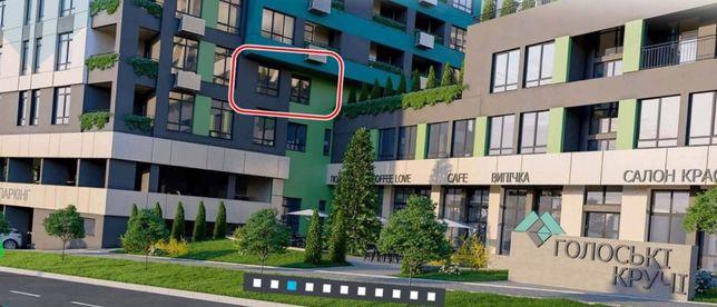 Продам 1 кім квартиру ціна 31000$ 44 кв.м. ЖК Голосіївські Кручі вул.
