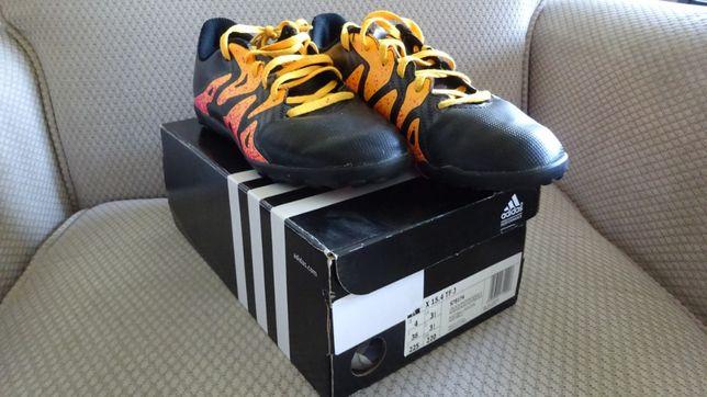 Buty półbuty korki turfy Adidas X15.4 TF J S78174 rozmiar 36 225 mm