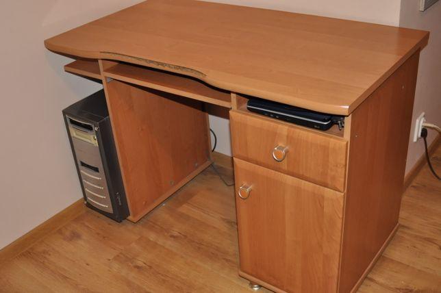 biurko BRW olcha miodowa