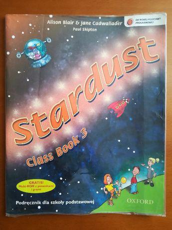 Stardust 3. Class book. Język angielski. Podręcznik + płyta CD