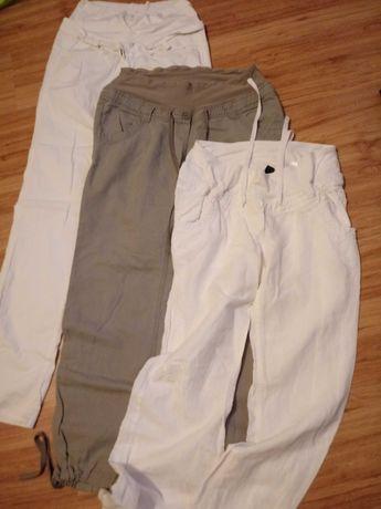 Spodnie ciążowe 40