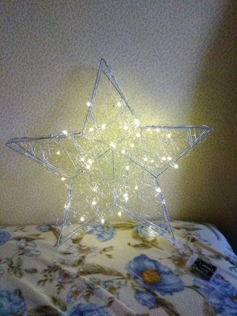 "Звезда металлическая LED, 58 см., ""Star-max"""
