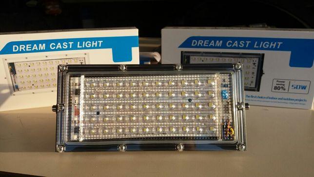 Lampa led wodooporna 50W=500W 230v warsztatowa lampa robocza