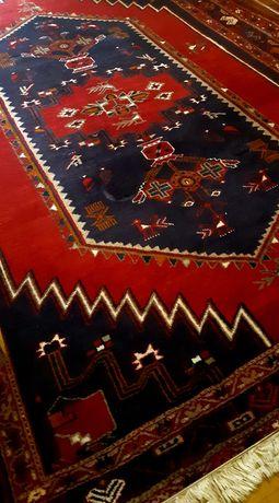 Carpete persa autêntico, do Irão. (com certificado de autenticidade)