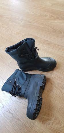 Buty gumowe zimowe ocieplane. Śniegowce robocze