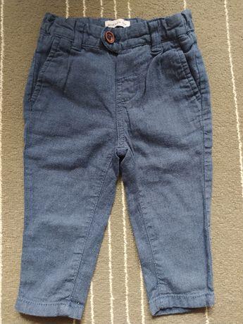 Spodnie materiałowe Reserved rozmiar 6-9 miesięcy
