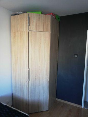 Sprzedam szafę narożną i łóżko