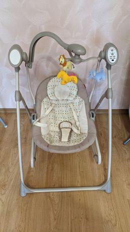 Шезлонг качалка качель кресло колыбель Carrello nanny 3в1