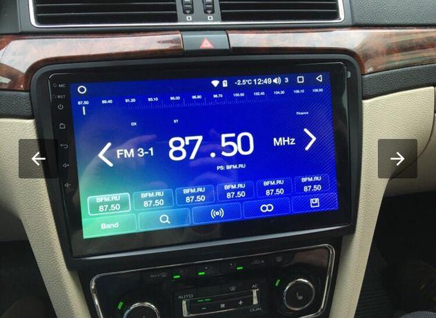 Автомагнитола Skoda Superb, Octavia A7 Android 9 PX6 4/32g GPS Wi-Fi