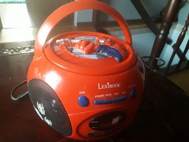 Magnetofon CD/radio Spider Man, Lexibook