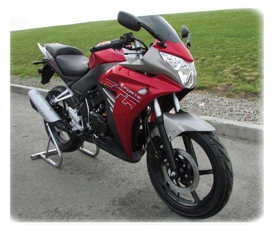 Мотоцикл FORTE FTR300 Рабочий объем мотора 299 куб.см