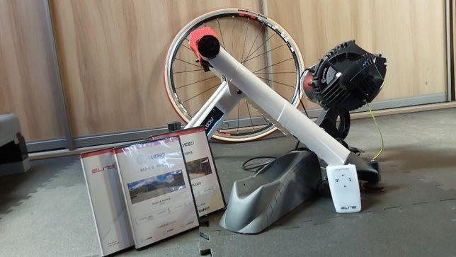 Trenażer rowerowy ELITE RealAxiom + koło z oponą do trenażera !GRATIS!
