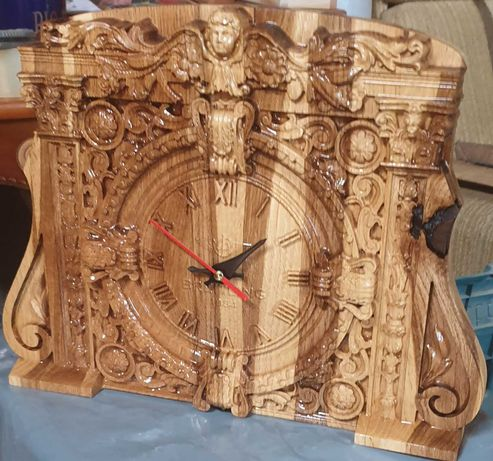 Годинник з дерева