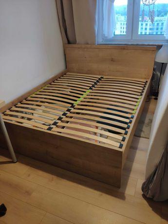 Łóżko Porto BRW 160x200 kolor dąb + stelaż + szuflady