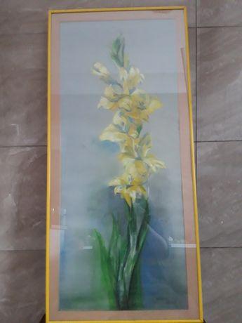 Obraz oryginał-kwiaty