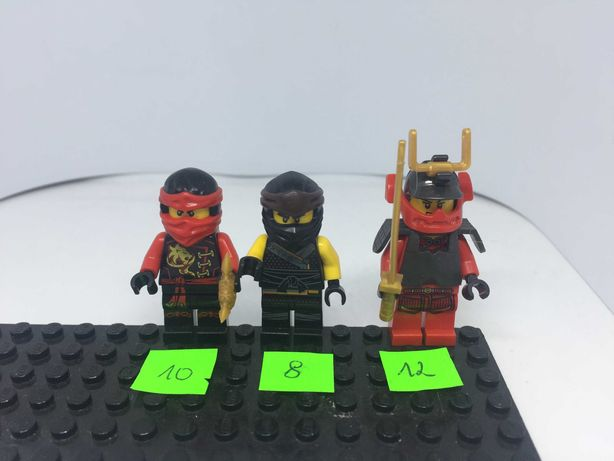 Lego Ninjago Minifigurki Figurki Ludziki