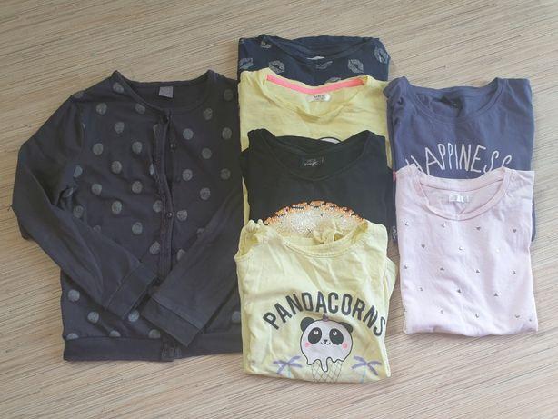 Koszulki bluzki T-shirty ZESTAW 134-164 cm