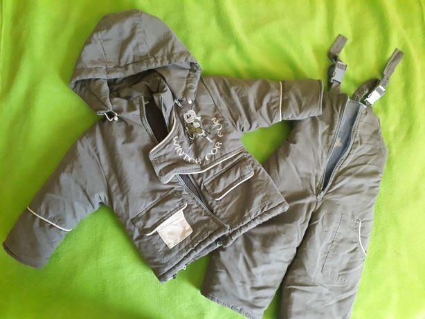 Kombinezon na zimę kurtka spodnie dla dziecka 92