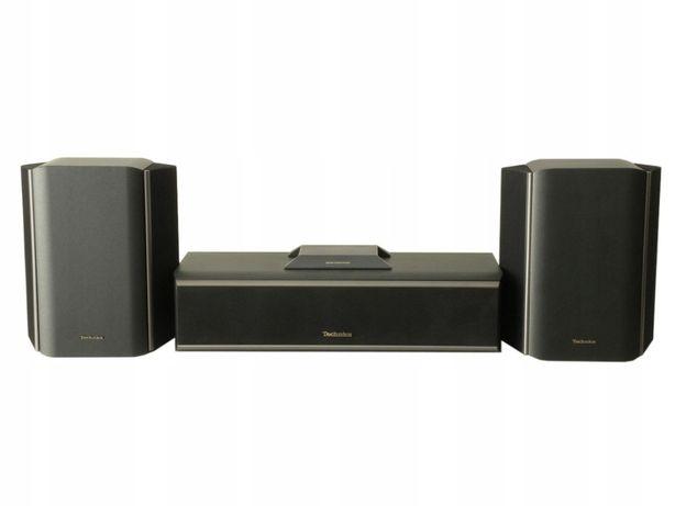 głośniki TECHNICS 100W SB-C500 + SB-S500 - centralny + surround KINO