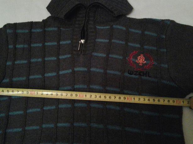 Новый свитер на мальчика, рост 140-148. ЗАМЕРЫ на фото