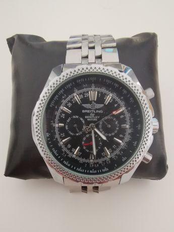 Automatyczny zegarek, duży, solidny, branzoleta, Breitling for Bentley