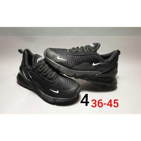 Nowe MĘSKIE meskie czarne nike air max 270 36,37,38,39,40,41,42,43,44