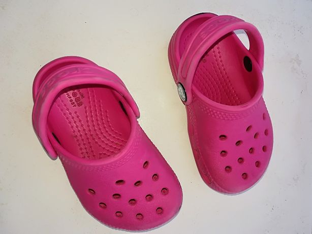 Crocs Menina Rosa T22-23