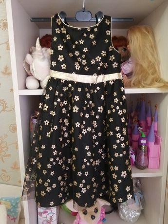 Шикарное блестящее платье