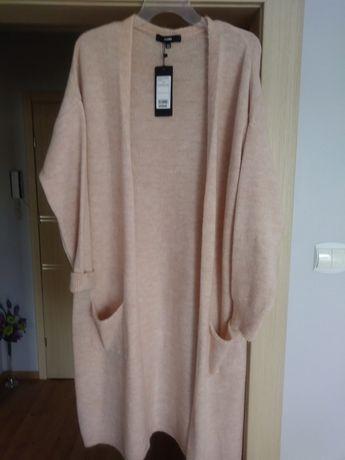 Sweter długi. Narzutka.Answear.