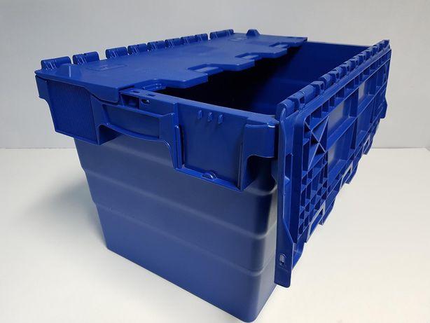 Pojemnik kurierski magazynowy transportowy zamykany-60x40x41cm.-NOWY