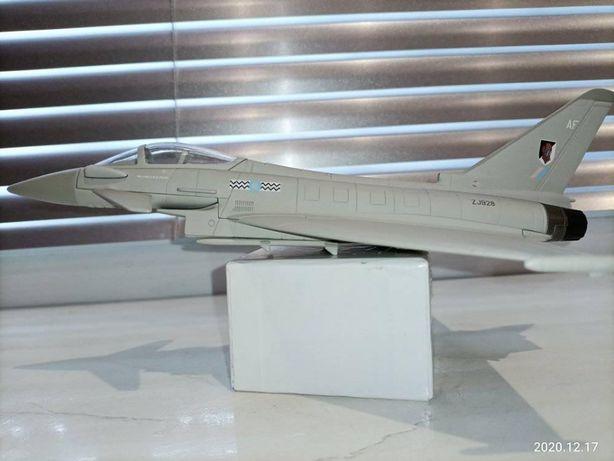 Модель Коллекционный Железный Самолет Еврофайтер Тайфун F.Mk 2