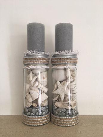 Castiçais 37 cm - Artesanato