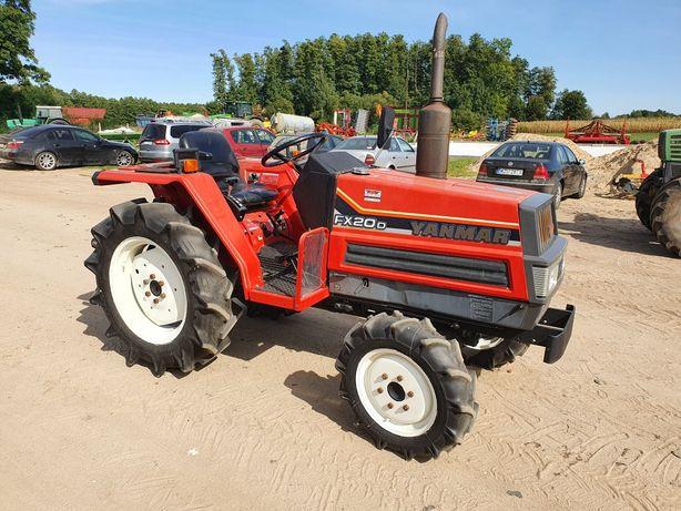 Mini traktorek sadowniczy,  ogrodniczy  Yanmar FX 20 D , japoński 4x4