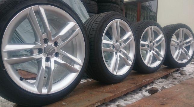 Koła AUDI S Line 18 cali 5x112 ET52 Opony 245/40 Seat VW Skoda