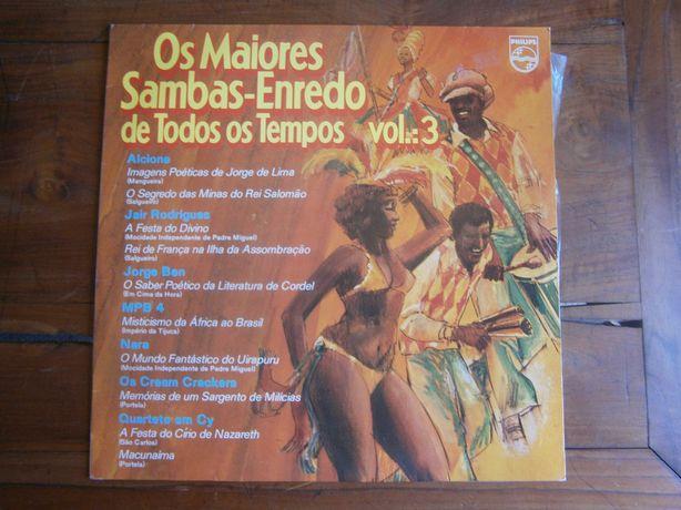 Os Maiores Sambas-Enredo De Todos Os Tempos Vol. : 3 (VINIL)