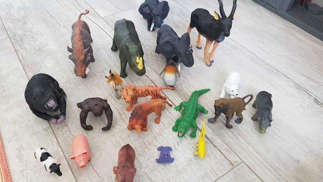 Zwierzatka z plastiku