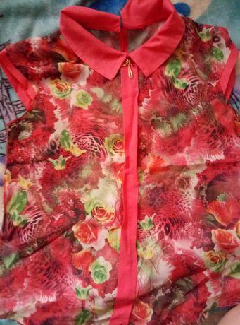 Продам шифоновую блузку в отличном состоянии