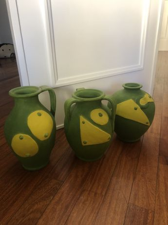 Vasos decorativos pintados à mão