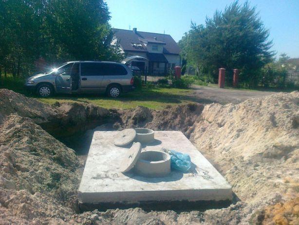 Zbiorniki na gnojówkę gnojowicę i szambo szamba betonowe deszczówkę 10
