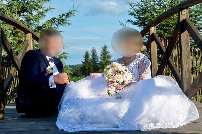 """Sprzedam Suknie Ślubną ,,DIANA"""" Rozmiar 38-40"""