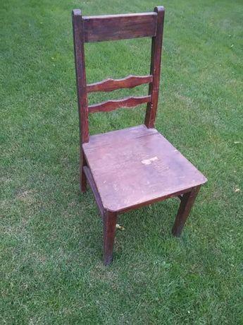 Krzesło drewniane antyk