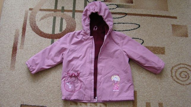Курточка демисезонная с флисовой подкладкой СОНЯ
