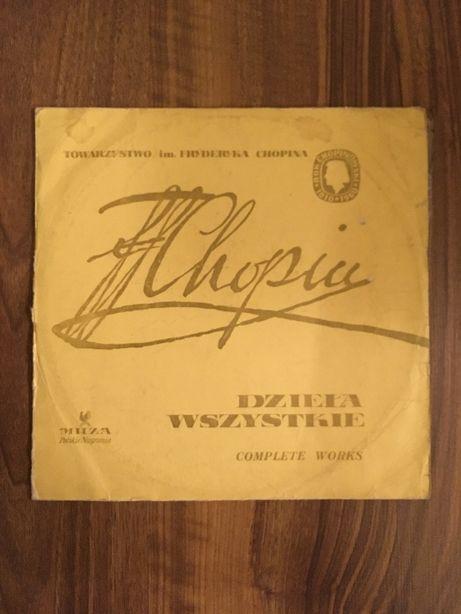 Fryderyk Chopin Szopen Dzieła Wszystkie Muza winyl płyta winylowa LP