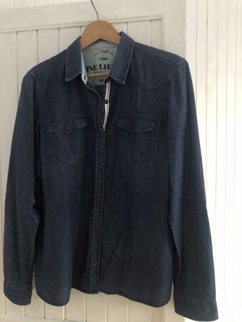 Koszula jeansowa 42