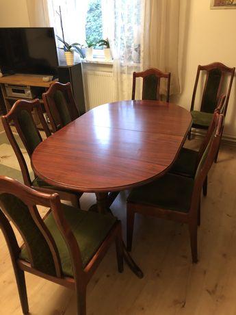 Stół + 9 krzeseł