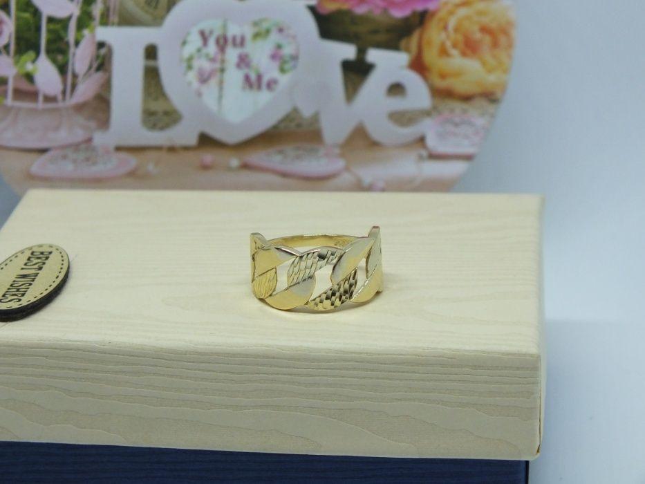 **Nowy złoty pierścionek 2,74g p.585-Lombard Stówka** Grudziądz - image 1