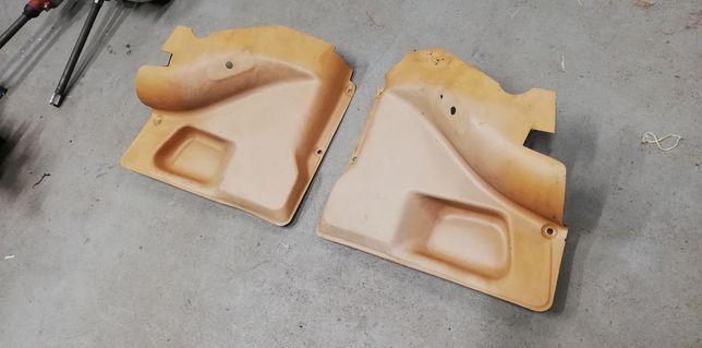 Fiat 126p boczki tylne beżowe
