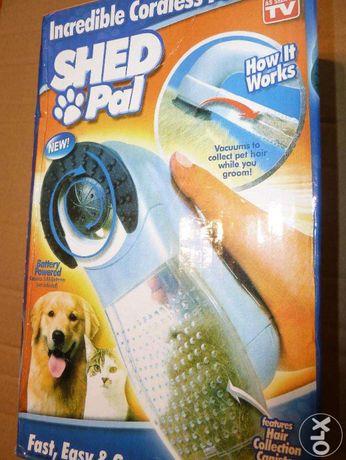 Escova eléctrica para animais nova