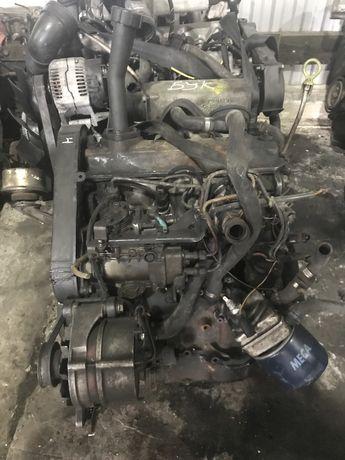 Двигун Фольксваген Течик Т4 1.9TD, 1.9D ABL 1X, КПП Коробка ,Головка