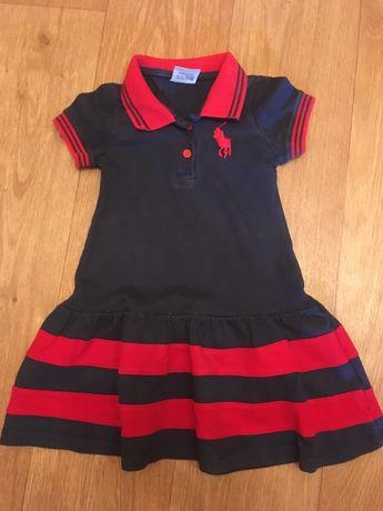 Платье летнее на возраст 1-1,5 года